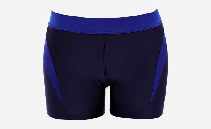 Xchenda Women Boyshorts Women Sporty Tankini Swimsuit Boyshort Swim Bottom Lace Up Board Short